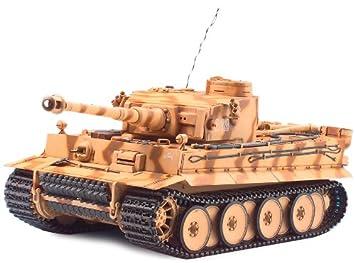 Tamiya Tiger I - RC- Vehículos Militares terrestres (Tanque ...