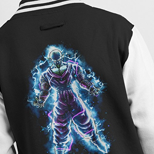 Black Dragon Power Ball Jacket Men's Piccolo white Z Varsity wvqaC505