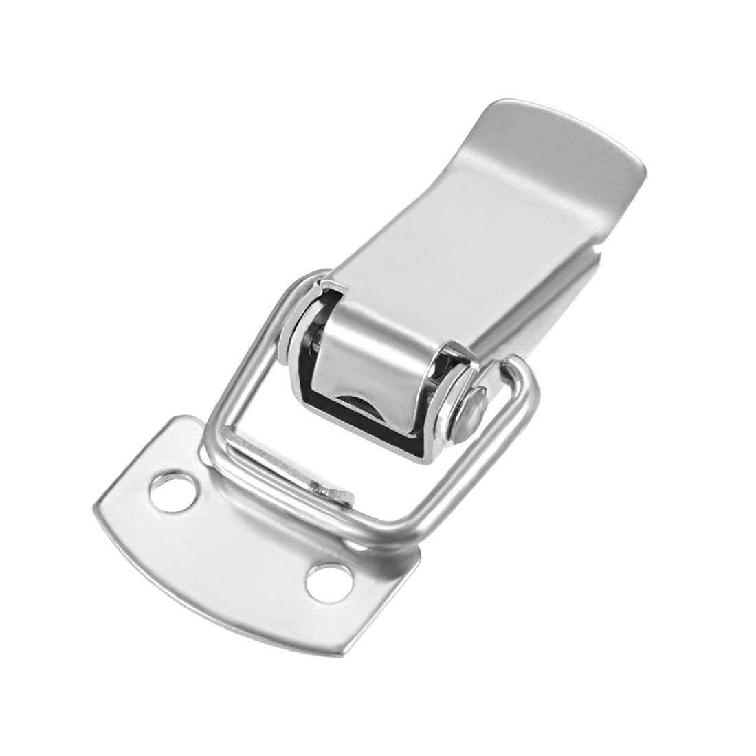 3-inch 201 Stainless Steel Spring Loaded Toggle Latch Catch for Box Chest Trunk