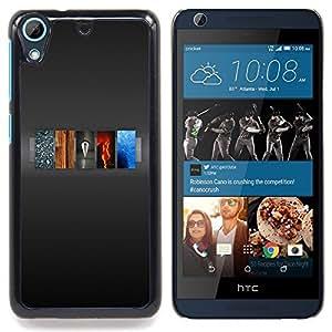 For HTC Desire 626 & 626s - 5 Elements Of Life /Modelo de la piel protectora de la cubierta del caso/ - Super Marley Shop -