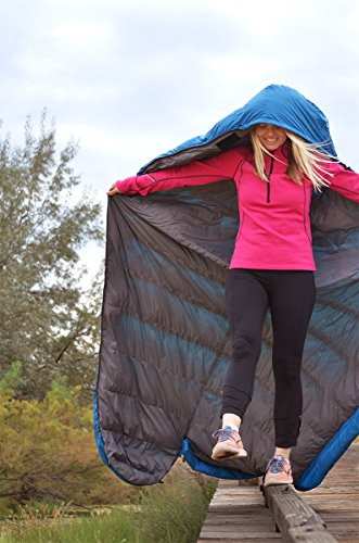 KLYMIT KSB 35 Degree Down Sleeping Bag (New for 2018), Blue by Klymit (Image #6)