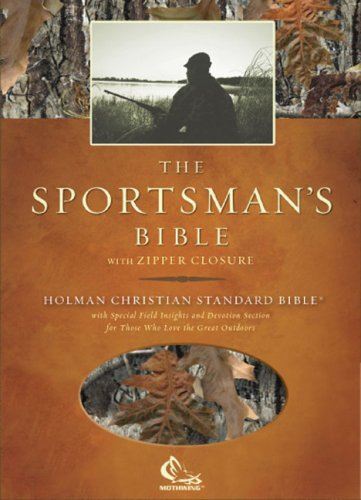 HCSB Sportsman's Bible, Camoflauge Bonded Leather