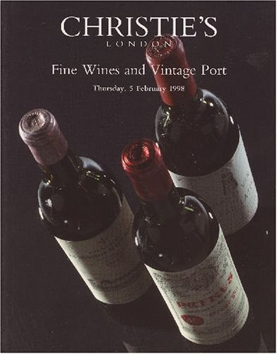 - Fine Wines and Vintage Port [Christie's, London (5910) / 05 Feb 1998]