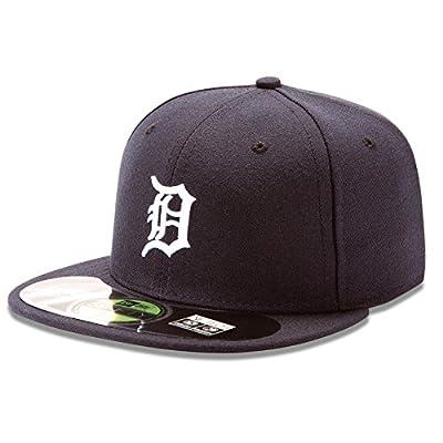 New Era 59FIFTY Detroit Tigers Team Home Baseball Hat Navy