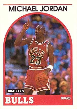 35121302ff32b Amazon.com: 1989-90 NBA Hoops #200 Michael Jordan Basketball Card ...