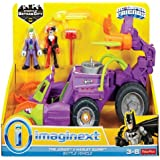 Imaginext Vehículo de joker, multicolor (Mattel 21-56DWV)