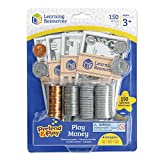 Toys : Learning Resources Pretend and Play, Play Money, Counting, Math, Currency, 150 Pieces, Ages 3+
