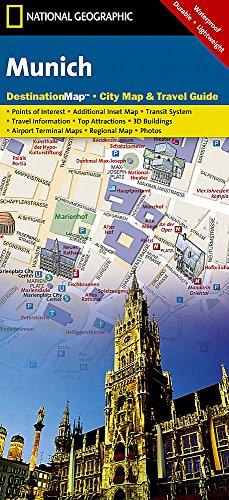 Munich (National Geographic Destination City Map)