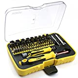 VOXON Screwdriver Set, Precision Repair Tool Kit, 70 in 1 with 65 Bits Magnetic Driver Kit Professional Screwdriver Kit for iPhone 8, 8 Plus/ iPad/ Smartphone/ Game Console/ Tablet/ PC, etc