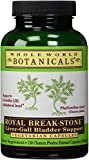 Whole World Botanicalswhole World Botanicals Royal Break Stone Liver Gall Bladder Support -- 400 Mg - 120 Vegetarian Capsules by Whole World Botanicals