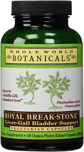 Whole World Botanicalswhole World Botanicals Royal Break Stone Liver Gall Bladder Support -- 400 Mg - 120 Vegetarian Capsules by Whole World Botanicals by Whole World Botanicals
