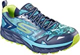 Skechers Men's GOtrail Ultra 3 Climate Series Running Shoe,Navy/Lime,US 7.5 M Review