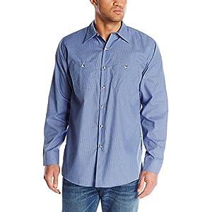 Red Kap Men's Industrial Lined Collar Work Shirt