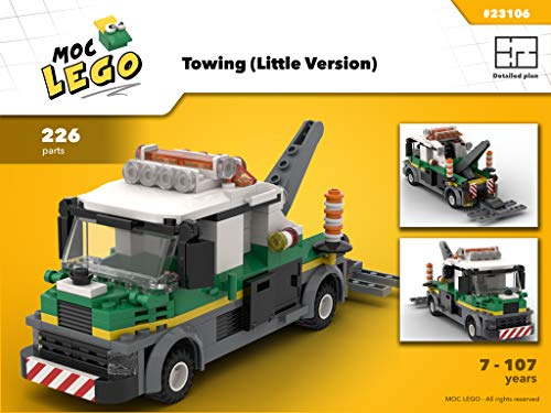 Towing (Little Version) (Instruction Only): MOC LEGO por Bryan Paquette