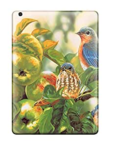 Ultra Slim Fit Hard JeffreySCovey Case Cover Specially Made For Ipad Air- Bird
