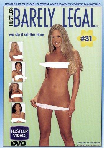 HUSTLER'S BARELY LEGAL 31 DVD starring Juliana Kincaid,Kaylani Lei, Hunny Bunny