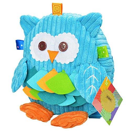 Amazon.com: DingXiong Childrens Plush School Bags Kids Backpacks 25cm Preschool Girls Boys Zoo Pack Cute Cartoon Animal Owl Cow Frog Monkey: Garden & ...