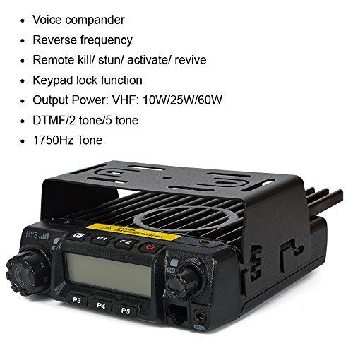 HYS TC-135 UHF Amateur FM Base Mobile Transceiver 45W long Distance Ham Car Mobile Two way Radio by HYS
