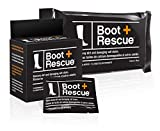 #9: BootRescue All-Natural Cleaning Wipes for Leather and Suede Shoes & Boots. Shoe Cleaning Wipe Removes Dirt, Salt Stains and Mud.