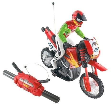 Mattel N1922-0 - Tyco Turbo Wheelie, moto con mando a distancia, rojo, 40 MHz [Importado de Alemania]: Amazon.es: Juguetes y juegos