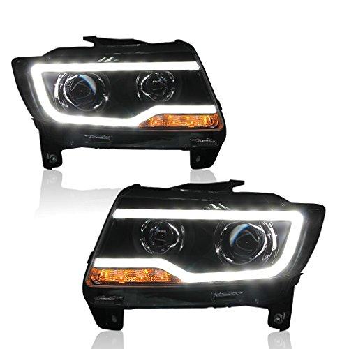 jeep compass xenon headlights xenon headlights for jeep. Black Bedroom Furniture Sets. Home Design Ideas