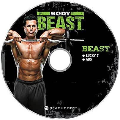 Body Beast Lucky 7 Workout DVD