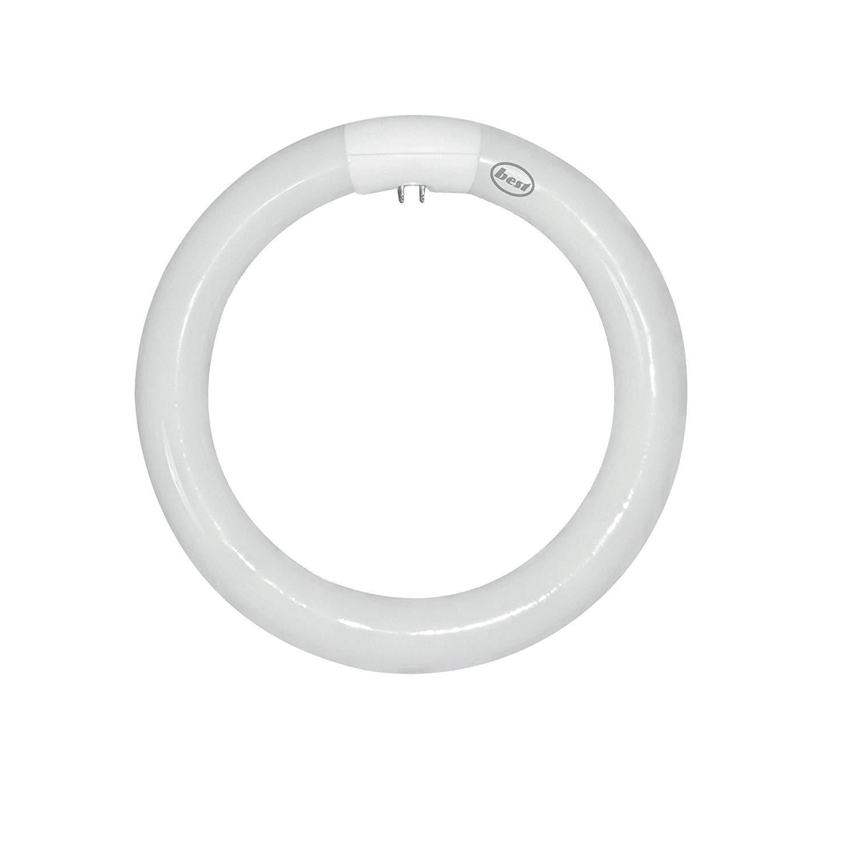 Bulk Hardware BH02360 Circular Triphosphor Tube, 60 W T9 4-Pin