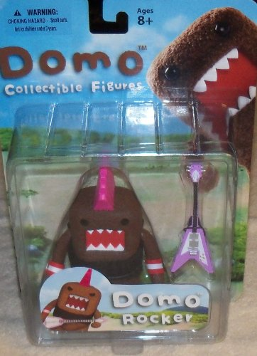 Domo Action Figure Series 01 - Punk Rocker Domo by Mezco Toyz