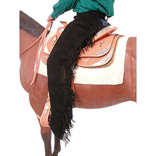 Tough-1 Western Chaps Equitation Protect Show Horse XL Black 63-310 from Tough-1