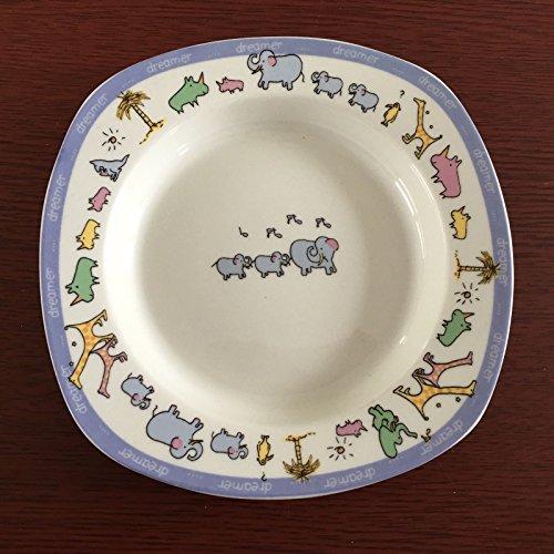 Rare! John Lennon Real Love Baby Feeding Plate, Dish by John Lennon