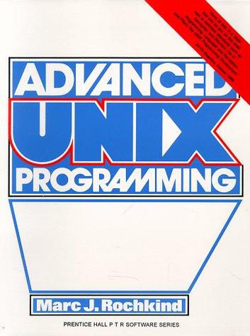 Ebook Advanced Unix Programming DOC