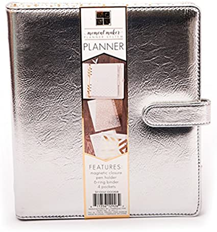 American Crafts Moment Maker Dcwv Planner Silver