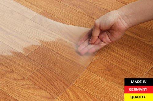 Stuhlmatte Bürostuhlunterlage Bodenschutzmatte Stuhlunterlage Transparent Glasklar 100% ( 90 x x x 250 cm ) 3a775f