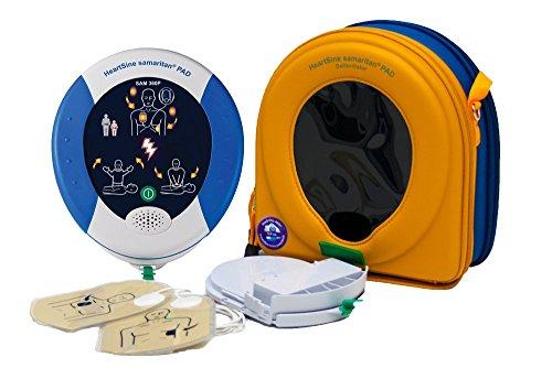 MedX5 PAD360P Defibrillator von HeartSine, AED, vollautomatischer Defibrillator mit HLW Unterstützung
