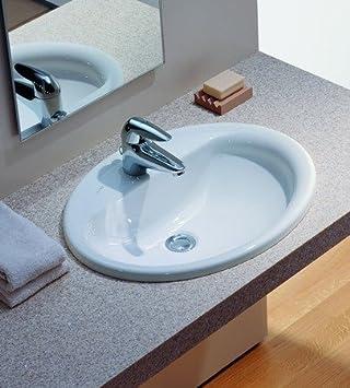Einbauwaschtisch  Laufen Pro B Einbau-Waschtisch weiß: Amazon.de: Baumarkt