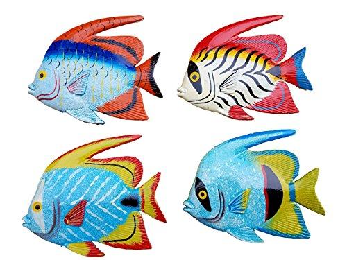 Fish Decor For Walls (All Seas Imports Multi-Color 6.5