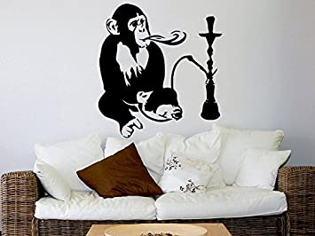Amazoncom Hookah Wall Decal Relax Arabic Wall Decals Monkey - Wall decals relax