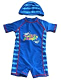 Stripes One Piece Swimsuit for Baby Boy Kids