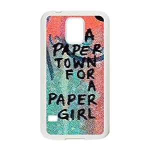a paere town for a paper girl Phone Case for Samsung Galaxy S5 Case