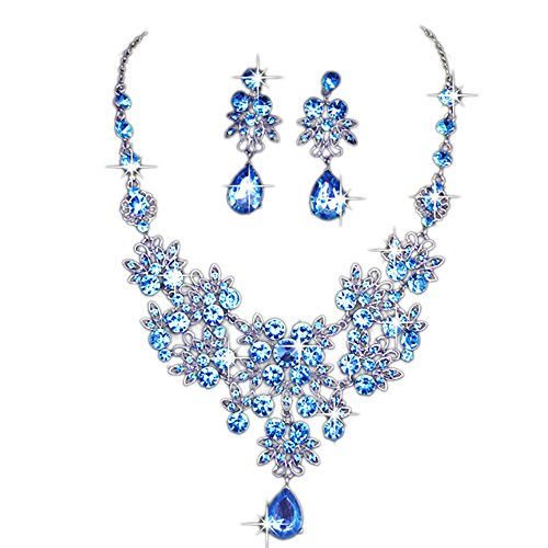 Gbell Clearance! Charm Wedding Bridal Crystal Necklace