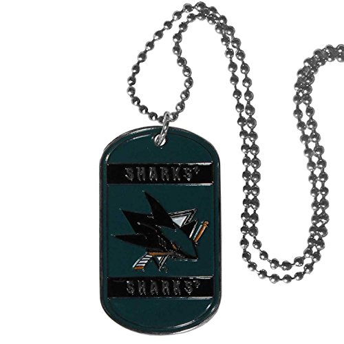 NHL San Jose Sharks Tag Necklace, 26