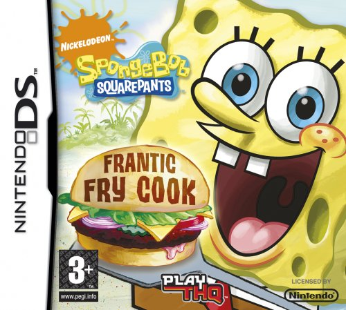 SpongeBob Squarepants: Frantic Fry Cook (Nintendo DS) by THQ (Best Selling Ds Games)