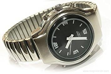 MA-4K00H Reloj para Ciegos de Dama Correa Extensible (Habla español): Amazon.es: Deportes y aire libre
