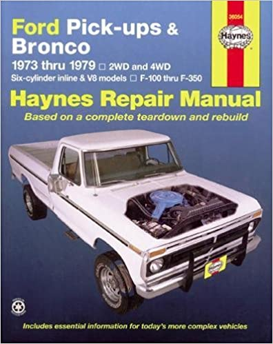 Ford pick ups bronco automotive repair manual 1973 1979 ford pick ups bronco automotive repair manual 1973 1979 fandeluxe Gallery