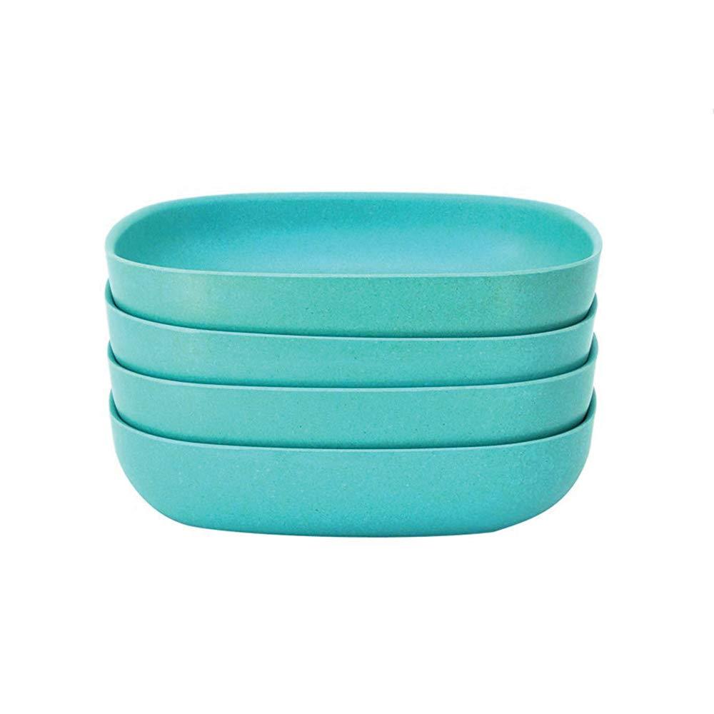 by Ekobo Black 4 Pack Biobu Gusto Pasta//Salad Bowl Set