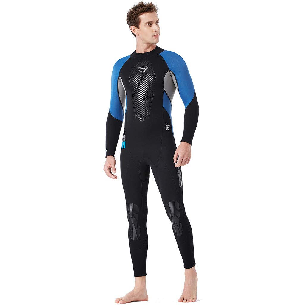 Yliquor Men's Keep Warm Sunscreen Swimming,Surfing and Snorkeling Diving Coverall SuitTraining Fashion Quick Dry Comfy Breathable Elastic Classic by Yliquor (Image #5)