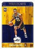#5: 2017-18 Panini NBA Hoops Basketball #263 Donovan Mitchell Rookie Card