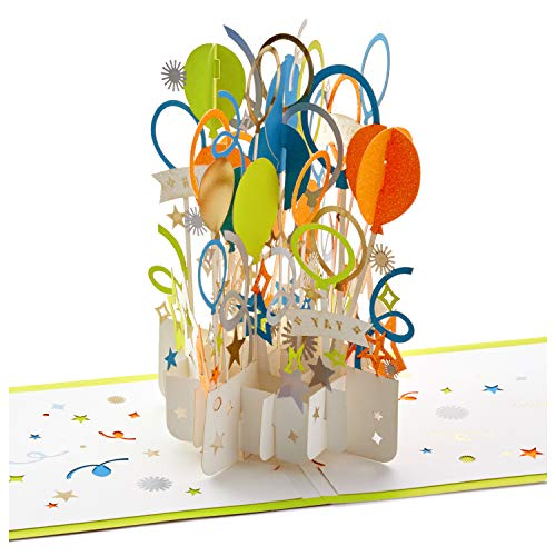 Hallmark Signature Paper Wonder Pop Up Congratulations or Birthday Card (Celebrate) ()