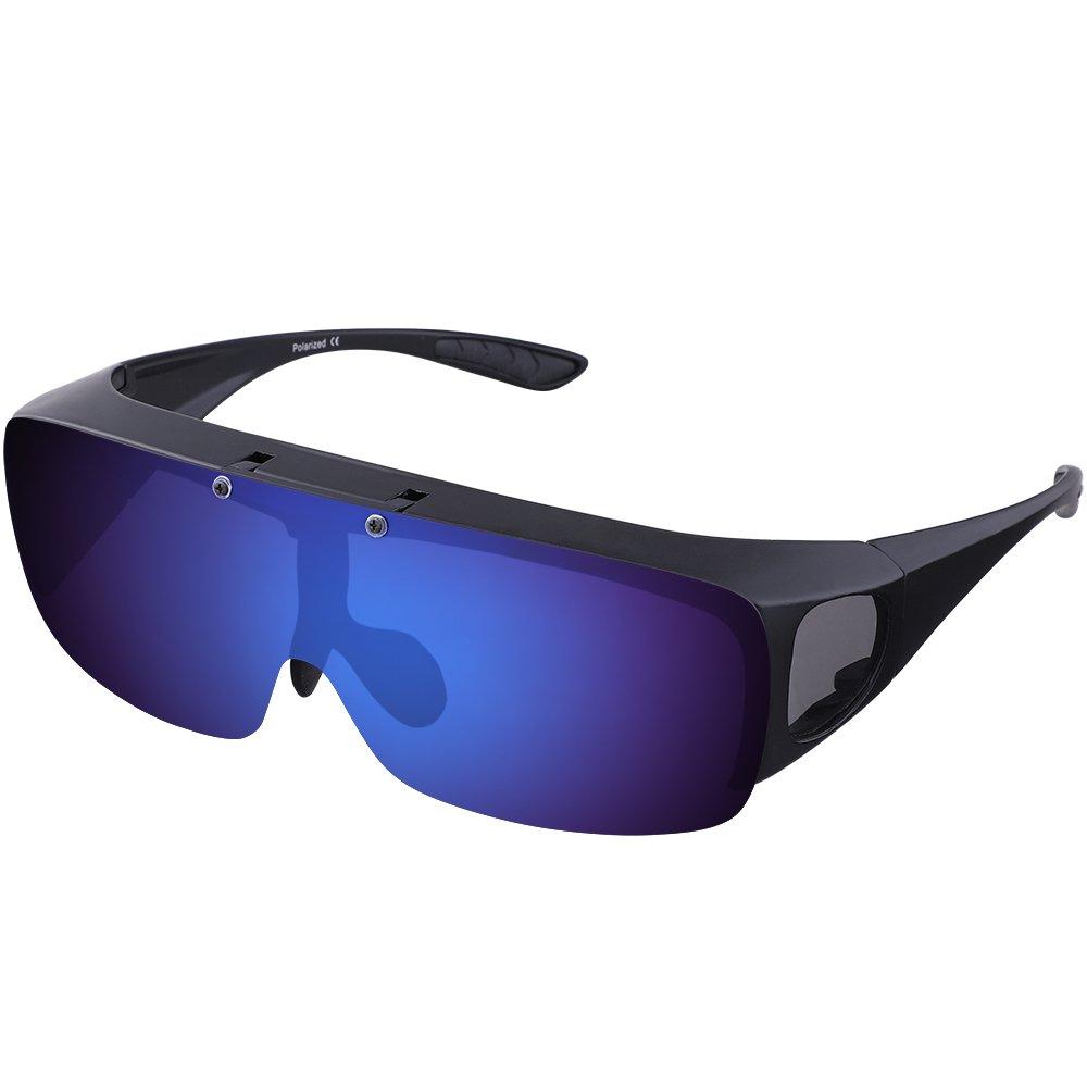 ARay 偏光サングラス オーバーサングラス 跳ね上げ式 UV400 紫外線カット