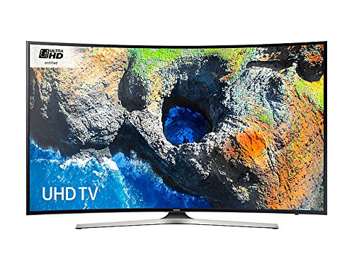 Samsung UE55MU6200 Black - 55inch 4K Ultra HD Curved TV with HDR Pro and...